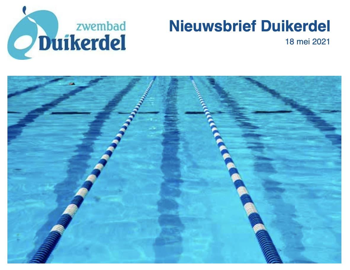 Algemene nieuwsbrief Duikerdel