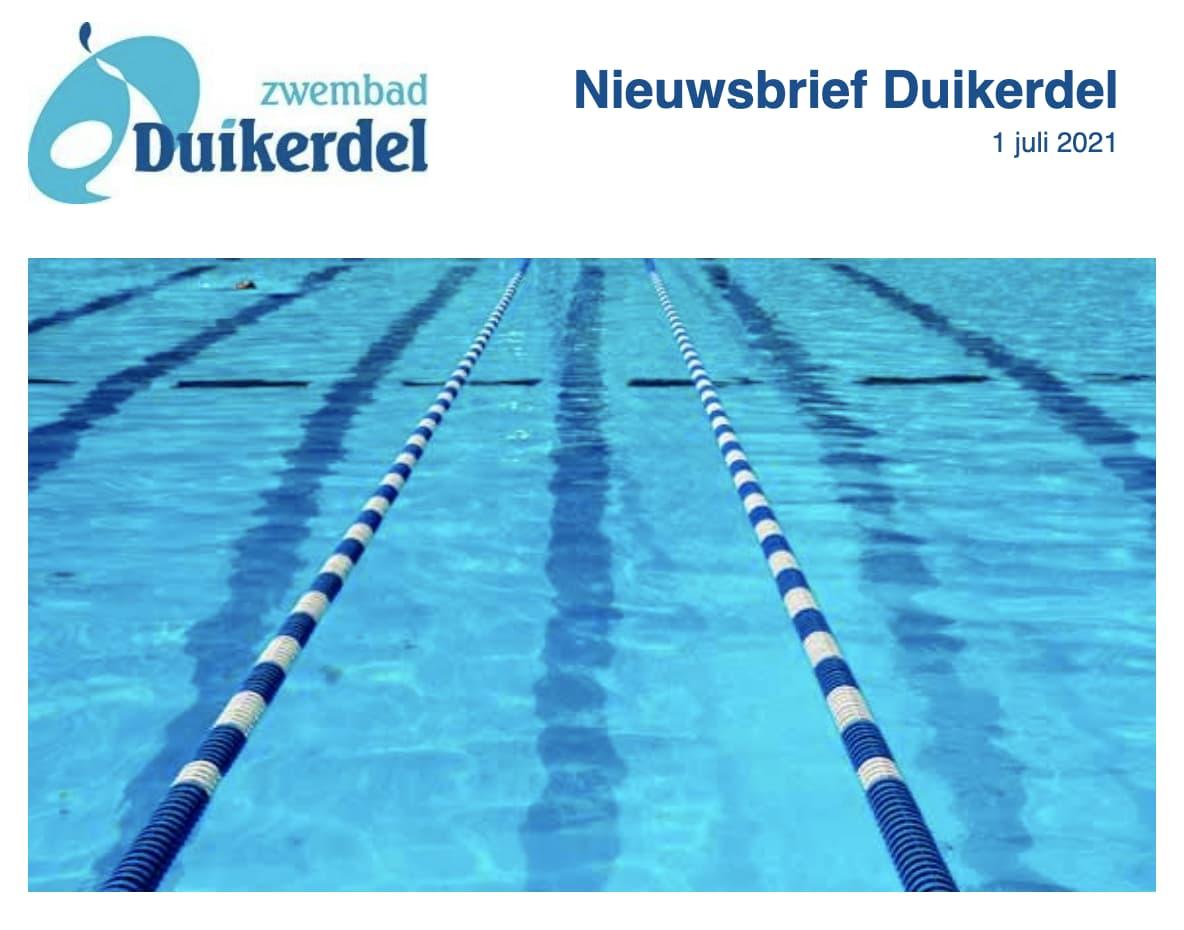 Nieuwsbrief Duikerdel